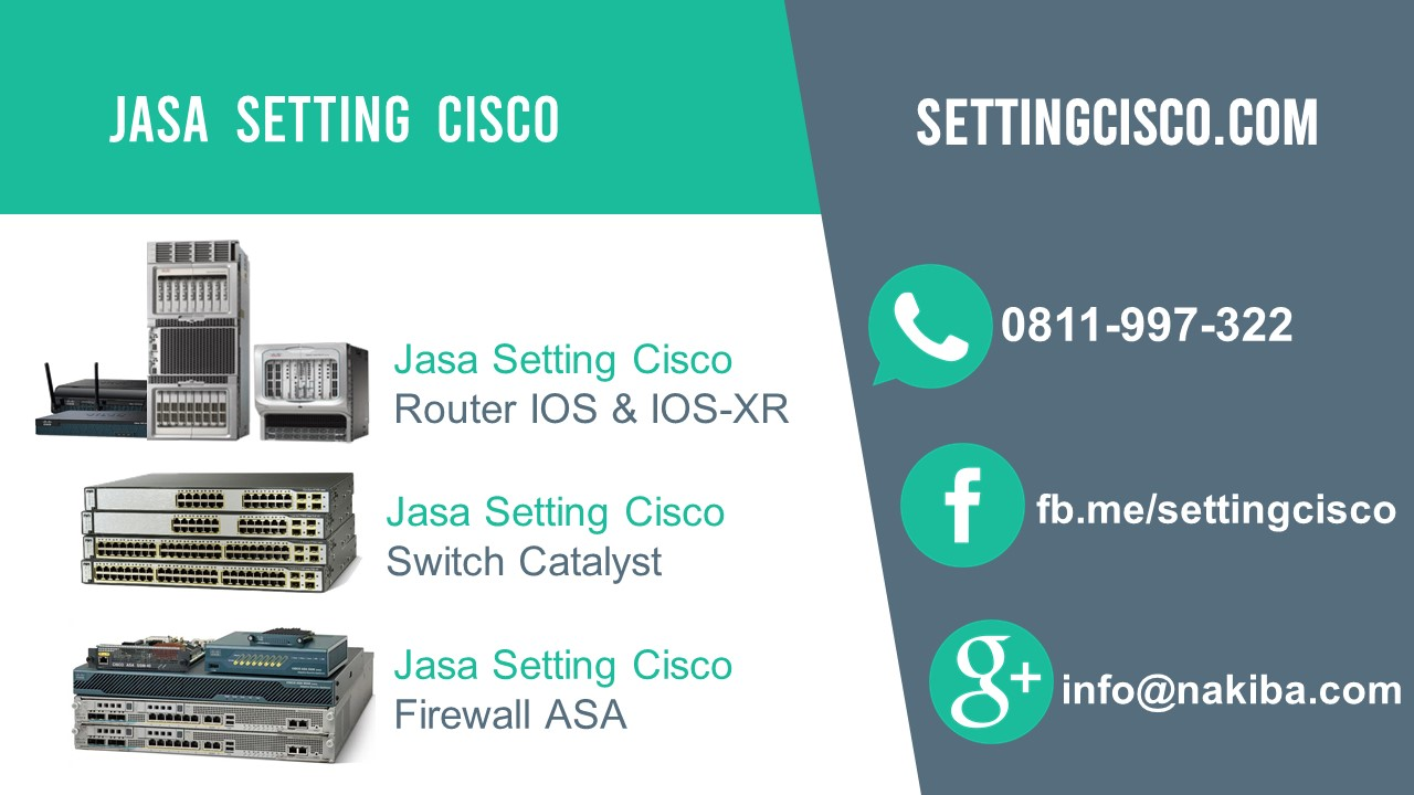 jasa setting cisco
